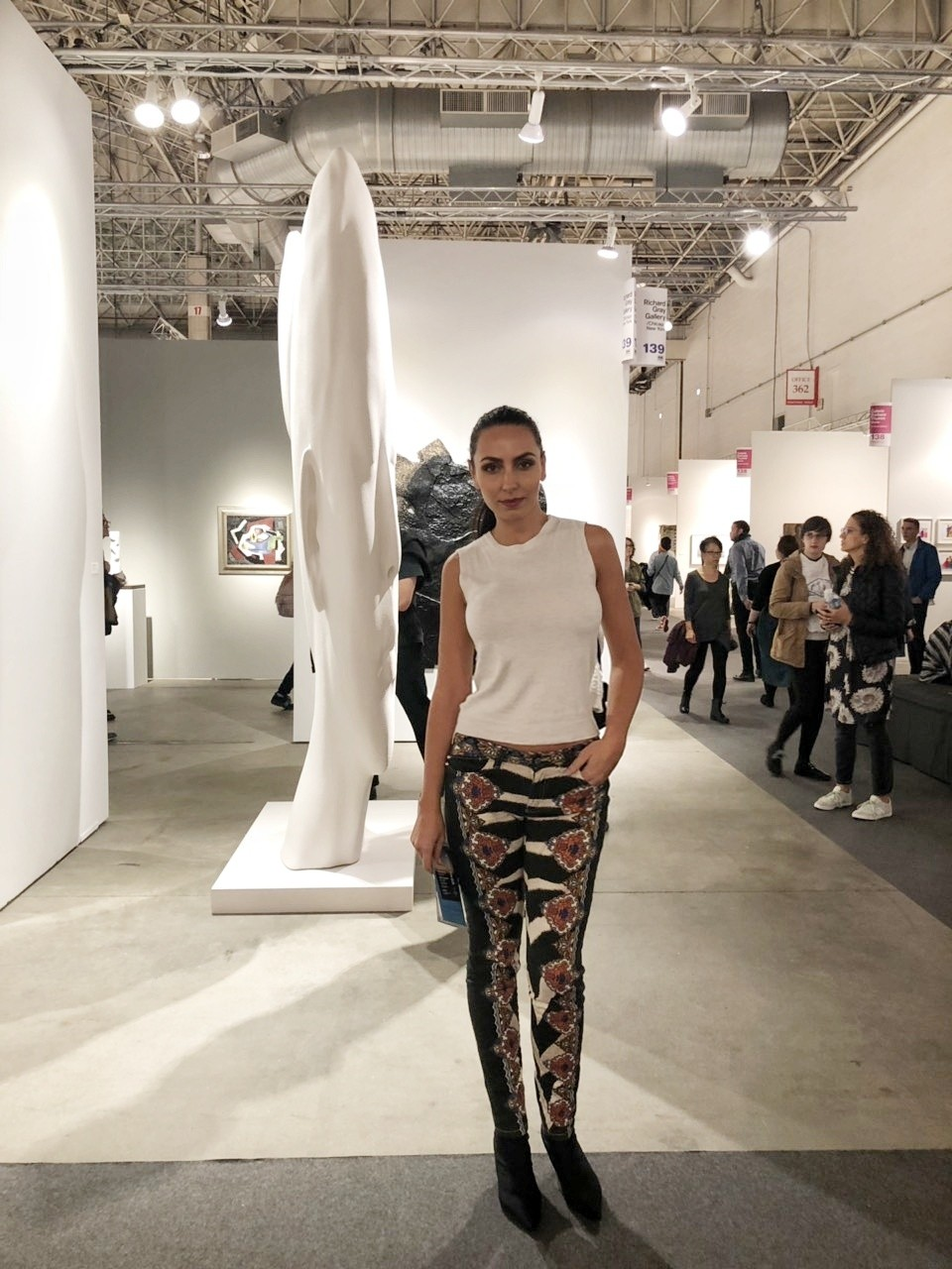 Expo Chicago 2018, Chicago, Chicago Blogger, Things to do in Chicago, art expo, lifestyle blogger