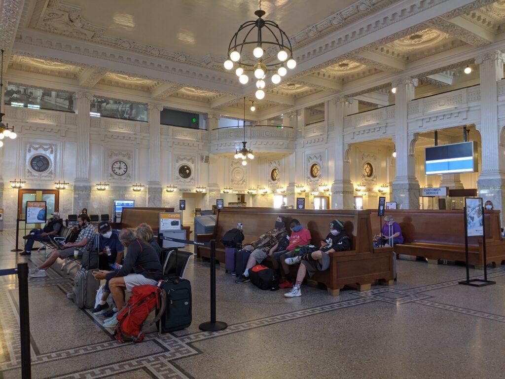 King Street Amtrak Train Station, where I started my adventure